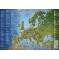 Карта на Европа - световно наследство